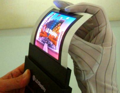 Tecnología Disruptiva: La pantalla Flexible de LG