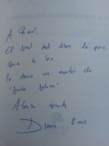 Dedicatoria Inspiritismo Diana Orero