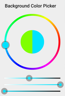 Cool Circle Watch Face Selector